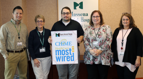 MASSENA MEMORIAL HOSPITAL NAMED 2018 CHIME HEALTHCARE'S MOST