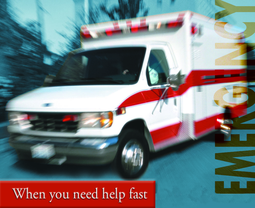 Emergency Department - when you need help fast
