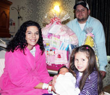 Family celebrates infant at Tender Touches